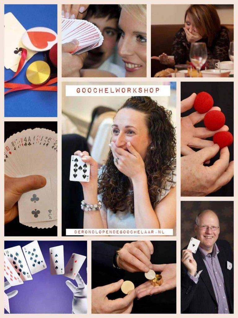 Goochelworkshop voor Bedrijven, Particulieren, Studenten en verenigingen